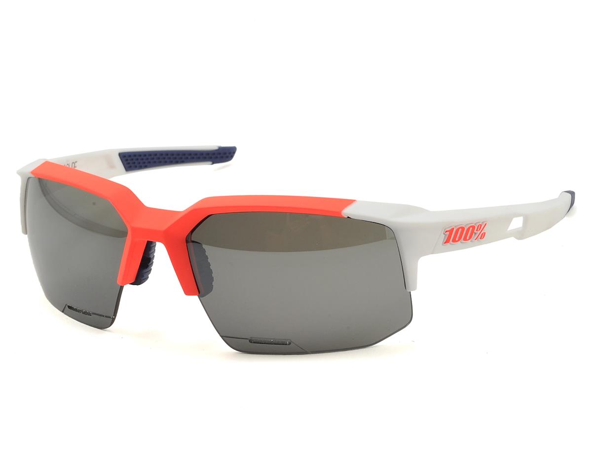 Speedcoupe Sunglasses (Gamma Ray) (Dark Grey Mirror Lens)