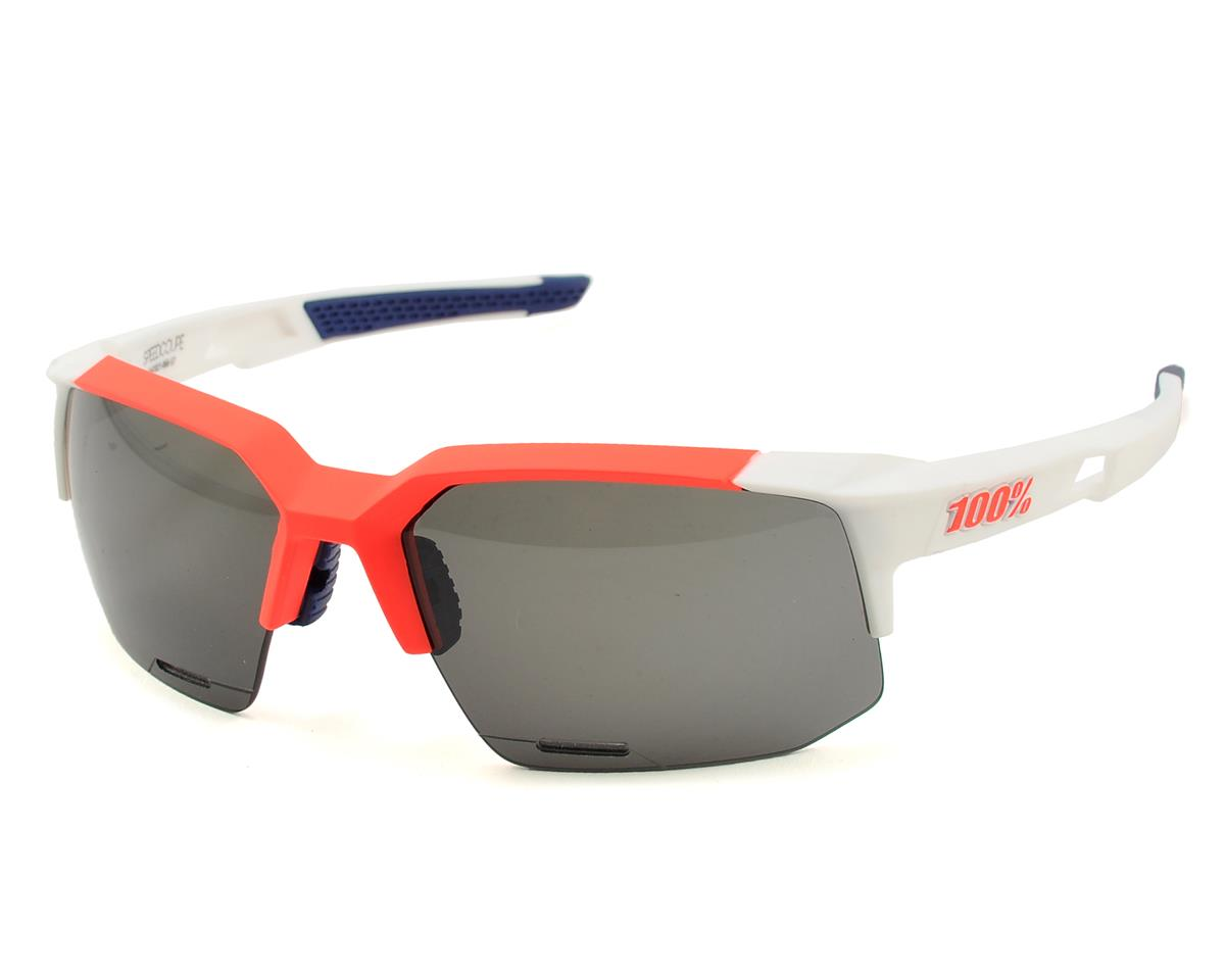 Speedcoupe Sunglasses (Soft Tact Gamma Ray) (Smoke Lenses)
