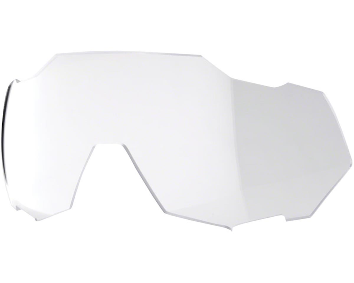 Image 2 for 100% SpeedTrap Sunglasses: Soft Tact Black Frame with HiPER Red Multilayer Mirro