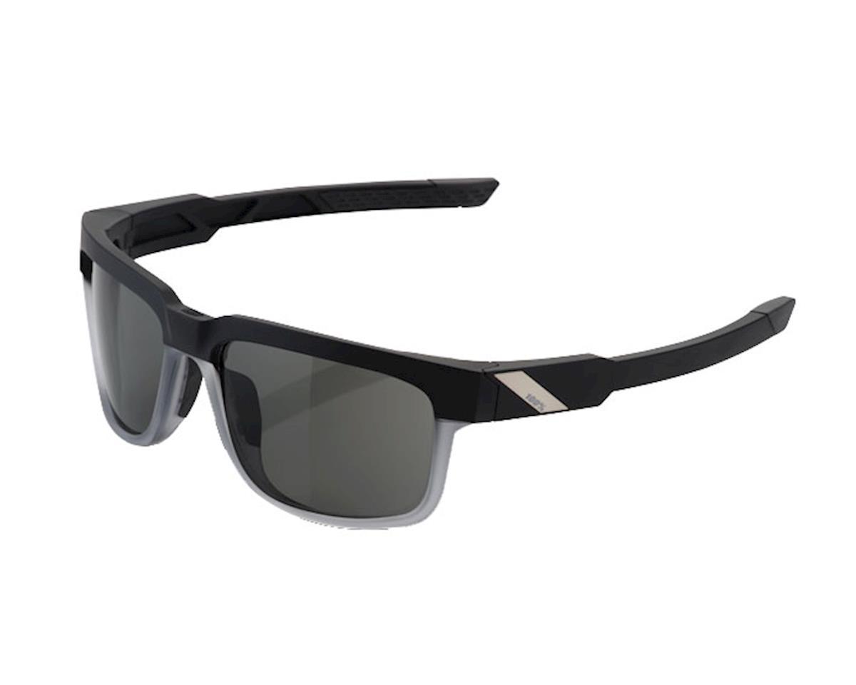 100% Type-S Sunglasses: Soft Tact Starco Frame with Grey Peak Polar Lens