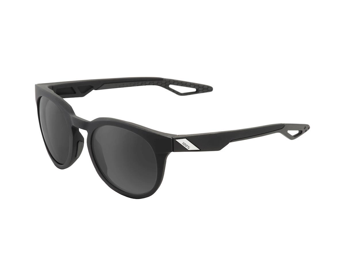 100% Campo Soft Tact Sunglasses (Black/Grey PeakPolar)