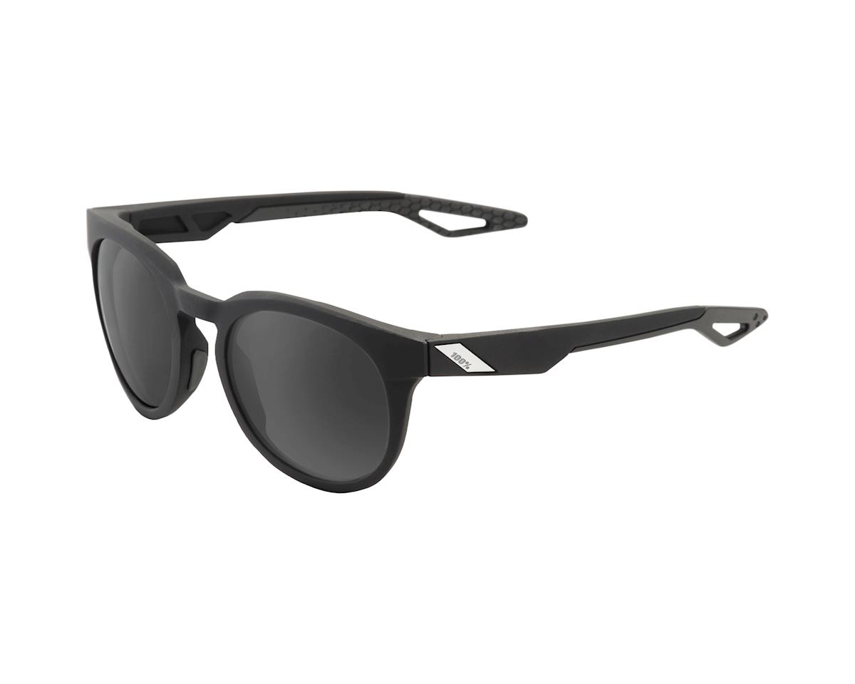 100% Campo Soft Tact Sunglasses (Black/Grey PeakPolar)