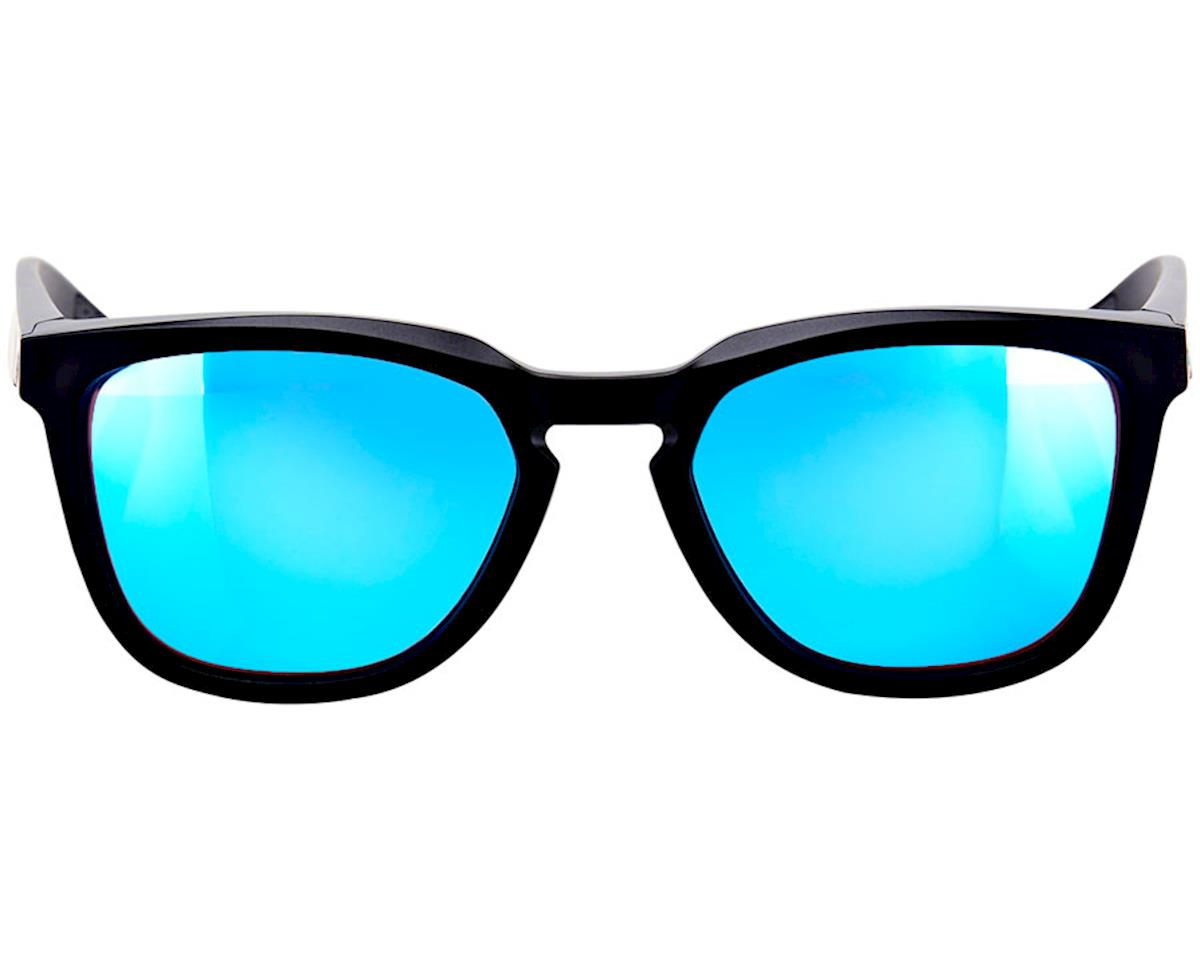 Image 2 for 100% Hudson Sunglasses (Matte Black) (HiPER Blue Multi Mirror)
