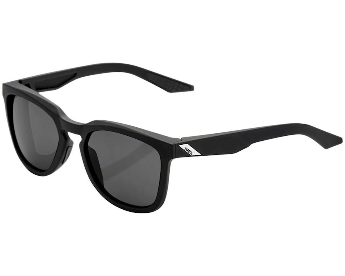 100% Hudson Sunglasses (Soft Tact Black) (Smoke Lens)