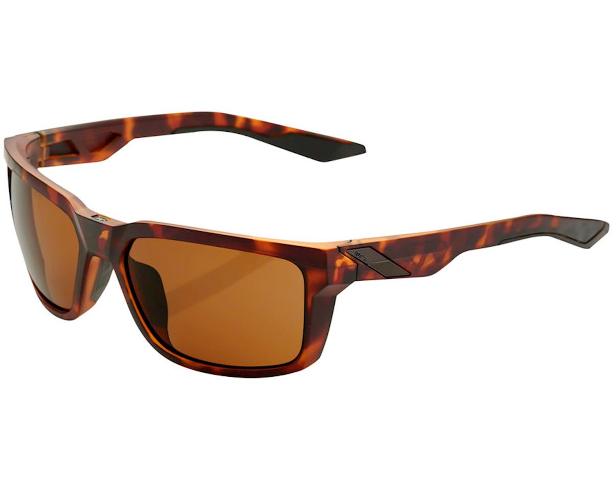 100% Daze Sunglasses (Soft Tact Dark Havana) (Bronze Lens)