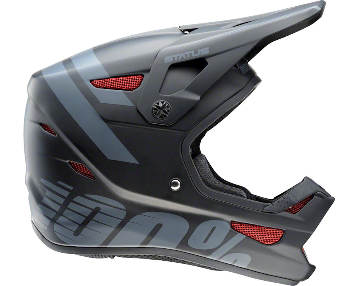 100% Status Full-Face Youth Helmet (Black Meteor)