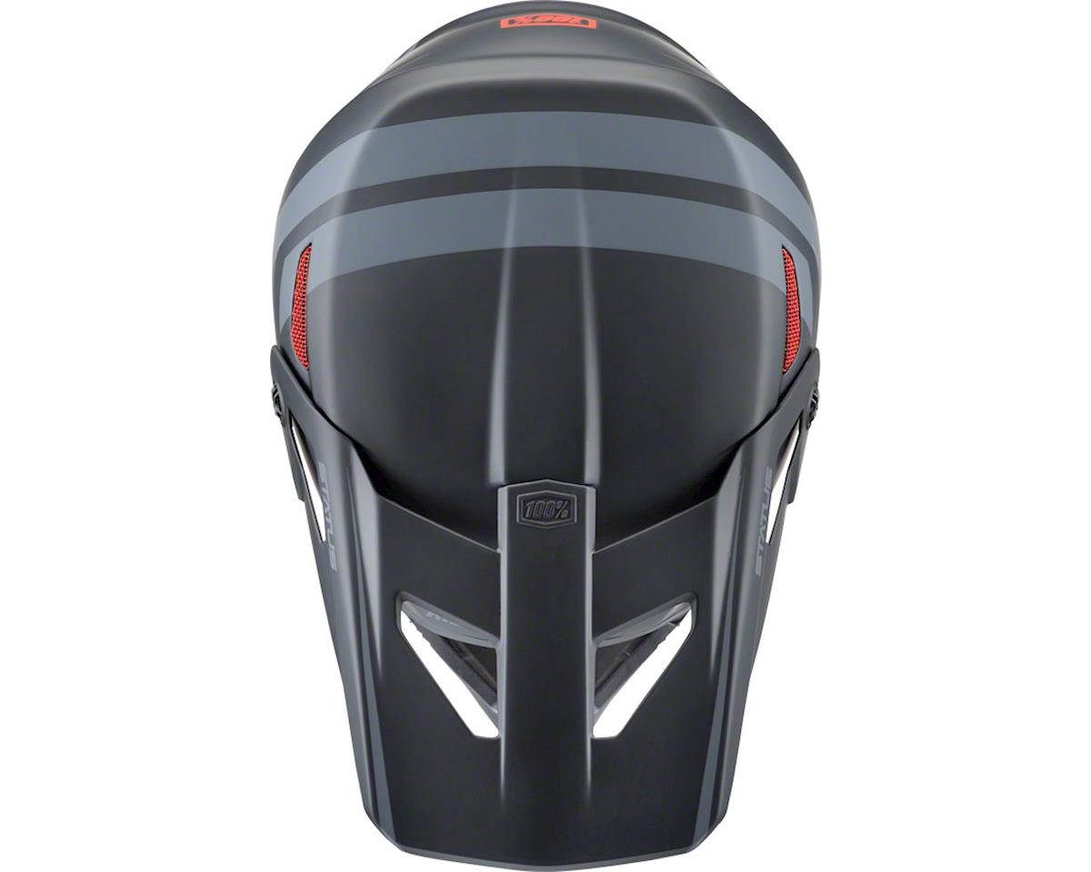 100% Status DH/BMX Full-Face Helmet (Black Meteor) (XS)