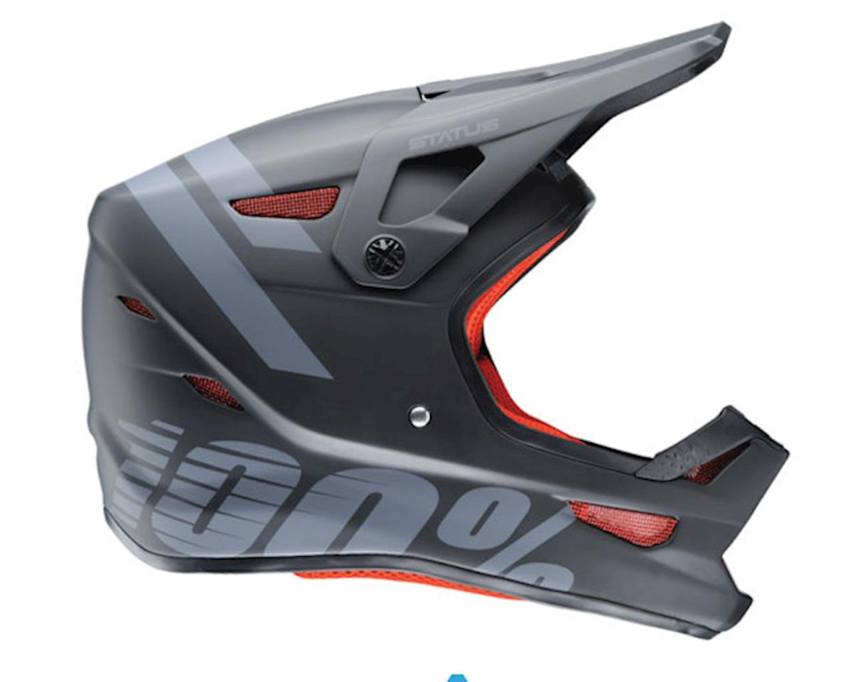 Status full face helmet, black meteor - XL