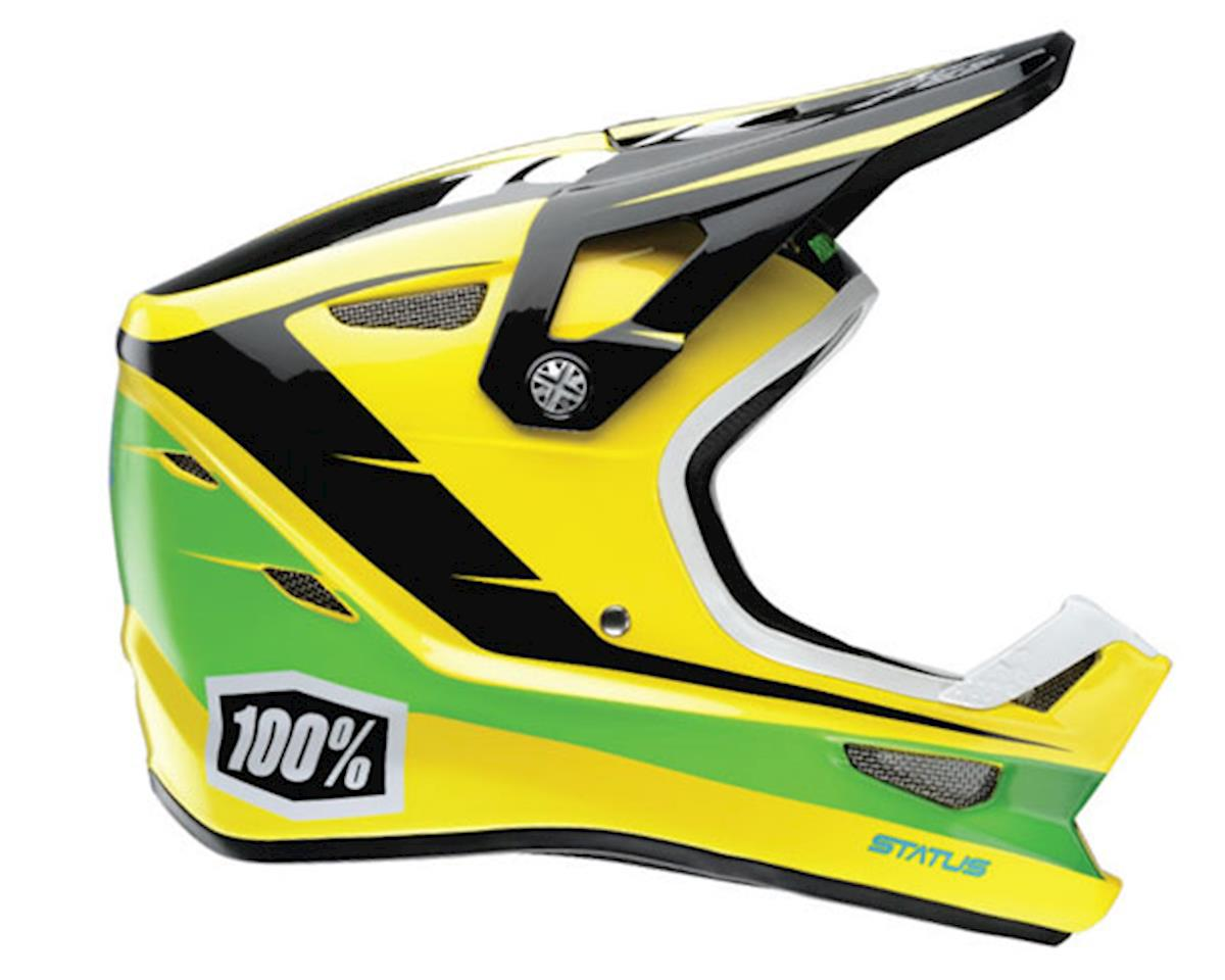 100% Status DH/BMX Full-Face Helmet (D-Day Yellow) (S)