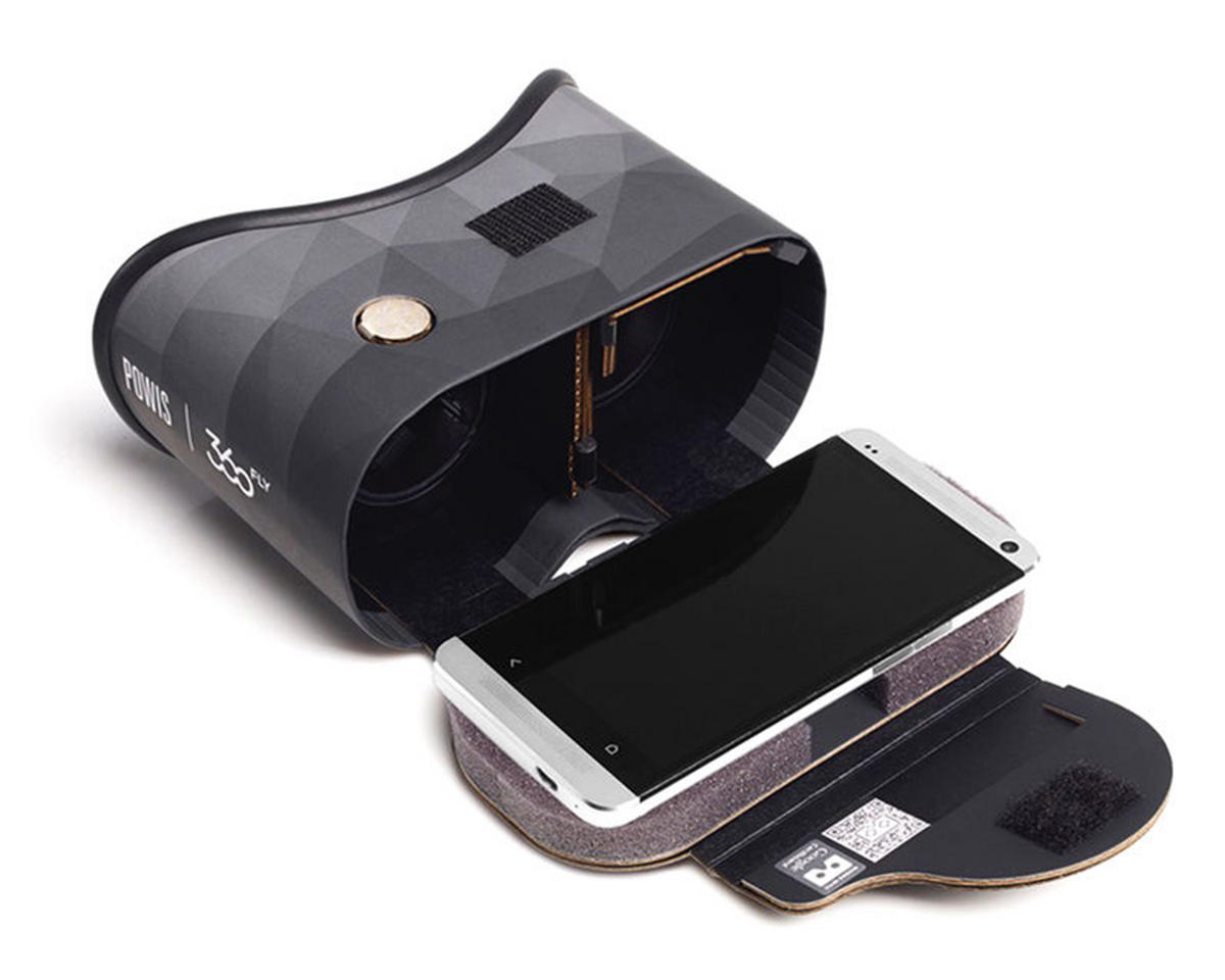 360fly Virtual Reality Smart Phone Goggles