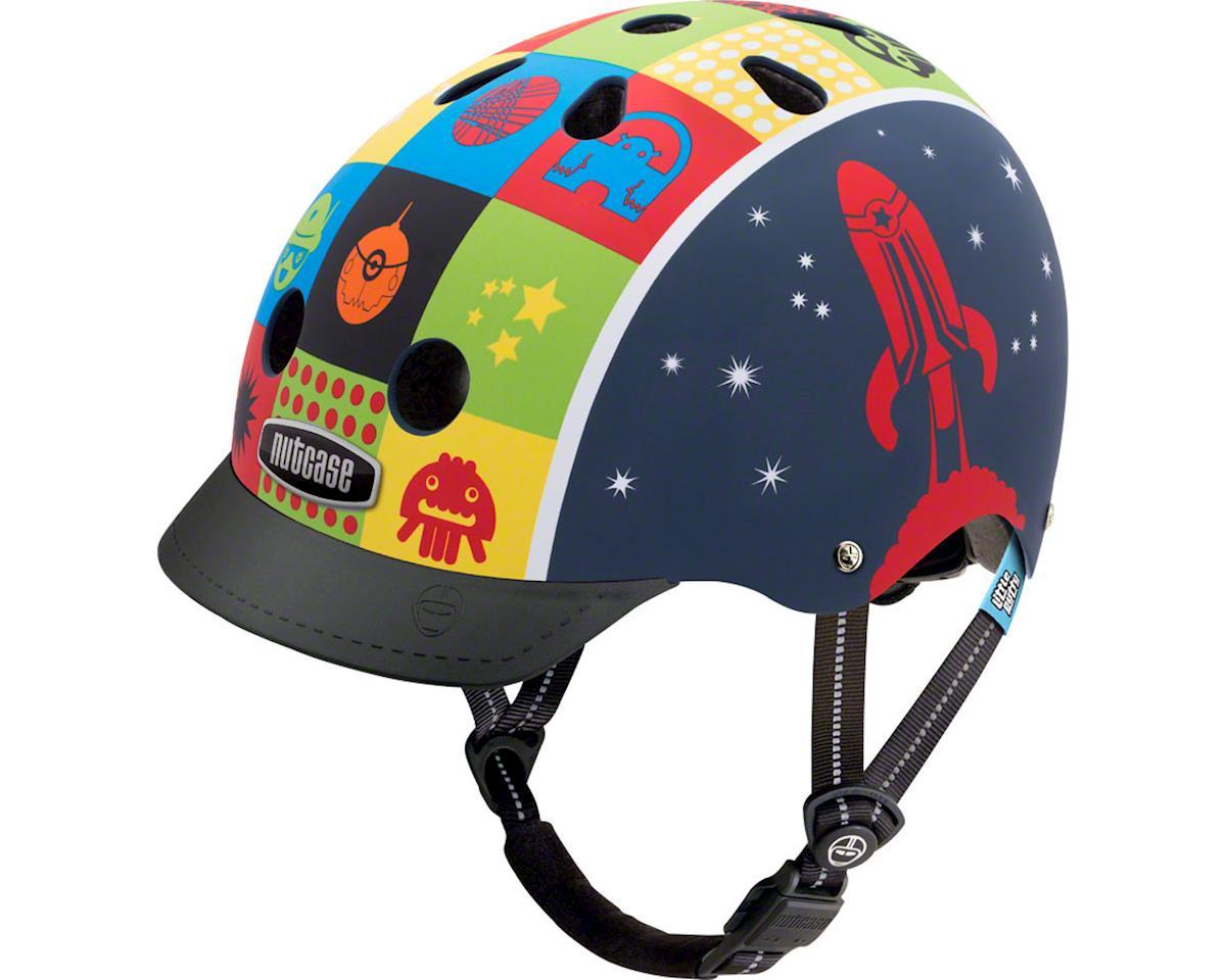 Nutcase Little Nutty Helmet: Space Cadet Matte XS