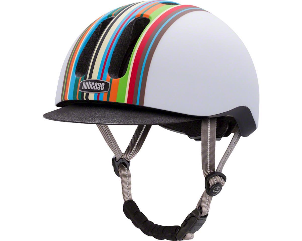 Nutcase Metroride Bike Helmet: Technicolor Matte SM/MD