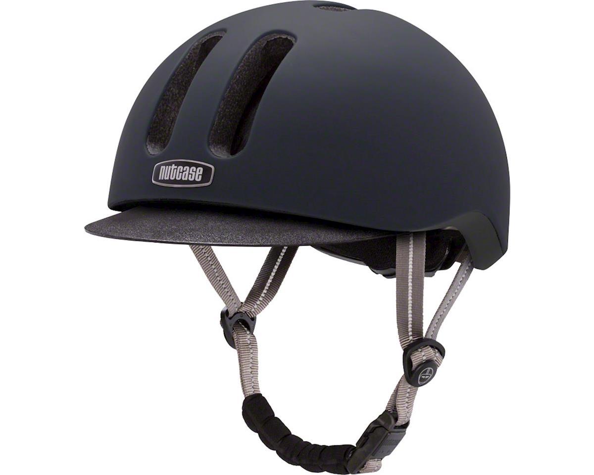 Metroride Bike Helmet: Black Tie Matte LG/XL