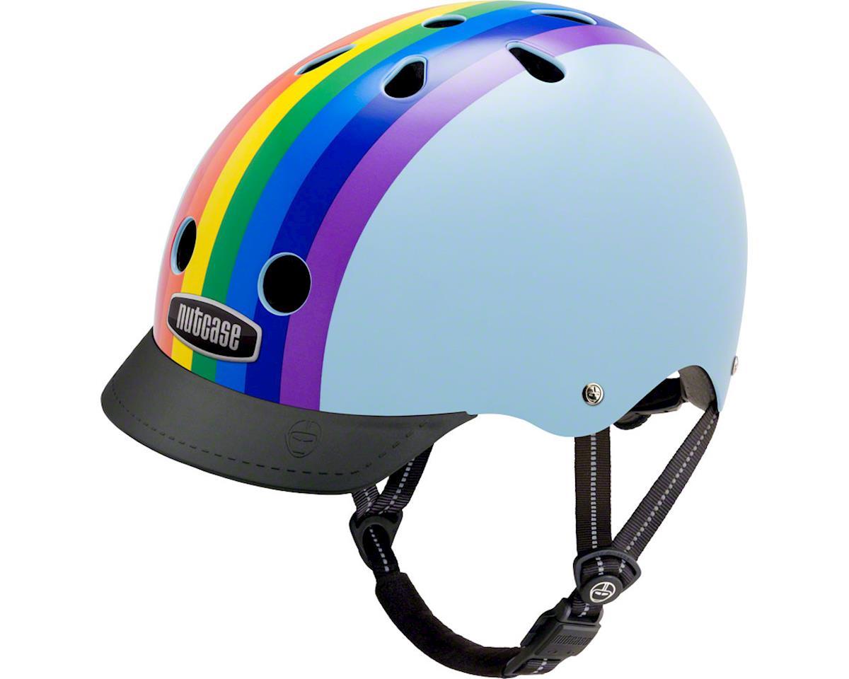 Street Helmet: Rainbow Sky LG