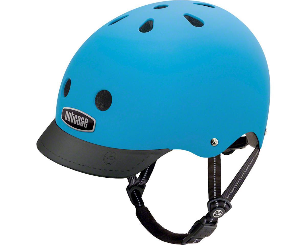 Nutcase Street Helmet: Bay Blue Mattet MD