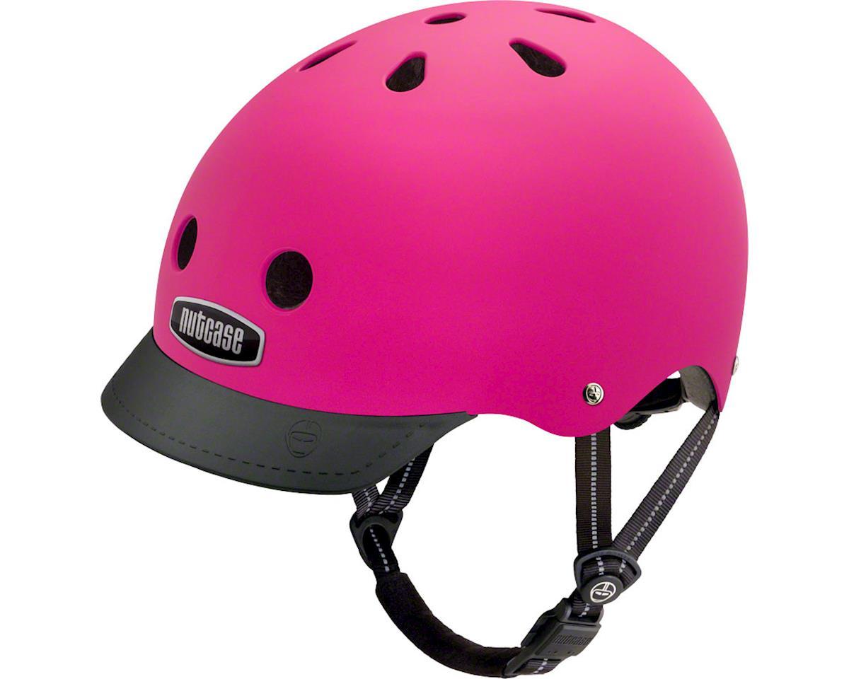 Street Helmet: Fuchsia Matte MD