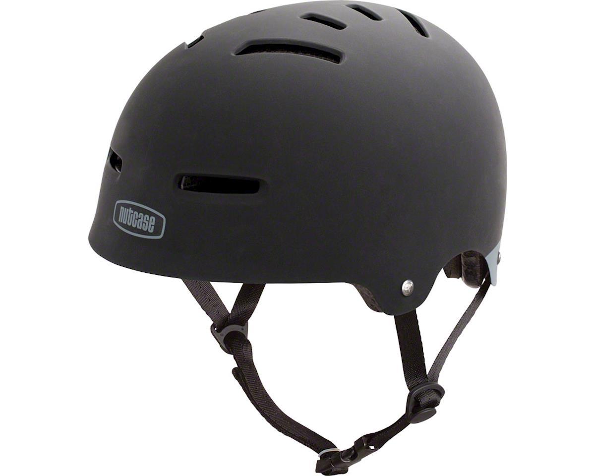 Nutcase Zone Helmet: Black Matte LG