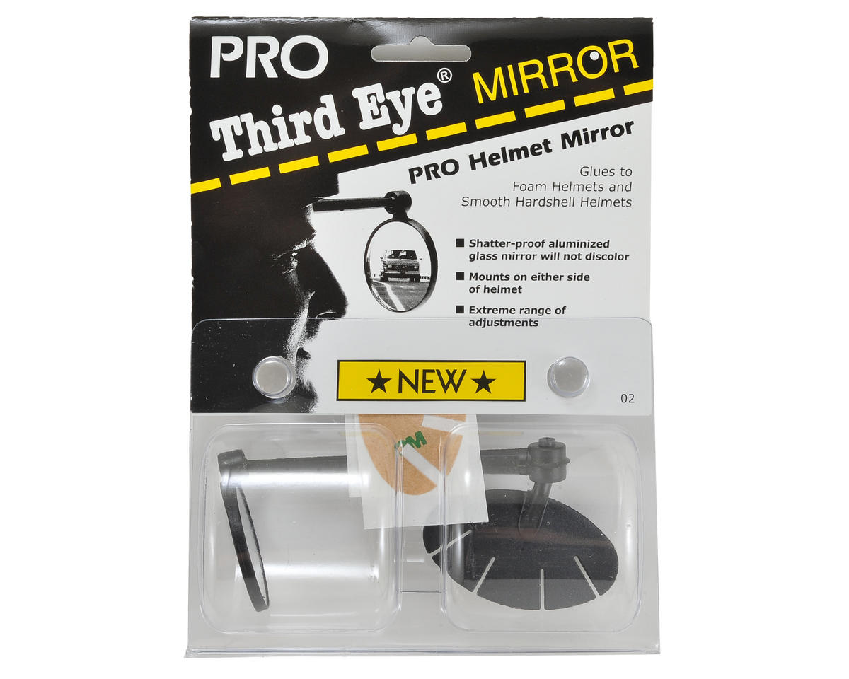 3Rd Eye Pro Mirror Adhesive (Fits Most Helmets)