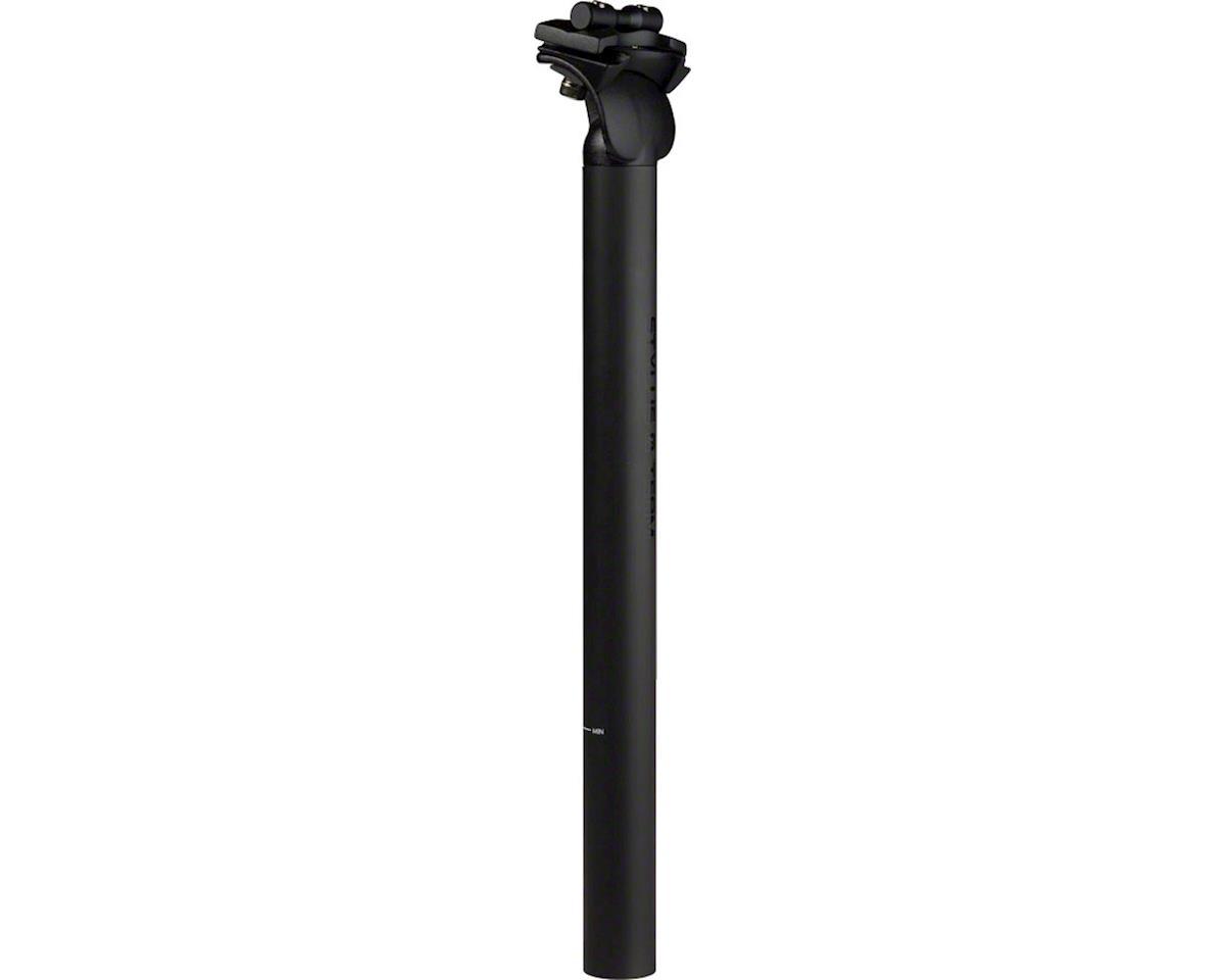 Stylus Team Stealth Seatpost: 31.6x350mm, 0mm Offset, Matte Black
