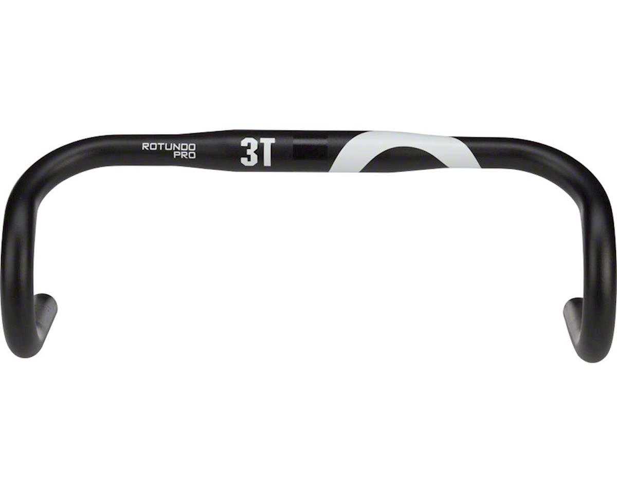 3T Rotundo Pro Handlebar: 31.8mm Clamp, 139mm Drop, 83mm Reach, 42cm Width, Blac