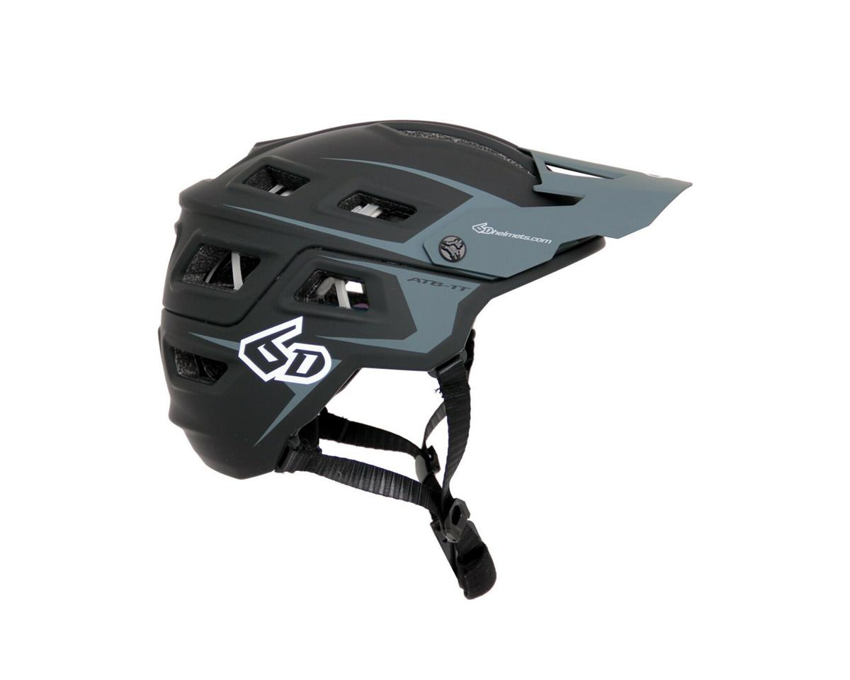6D ATB-1T Evo Trail Helmet (Black/Grey)