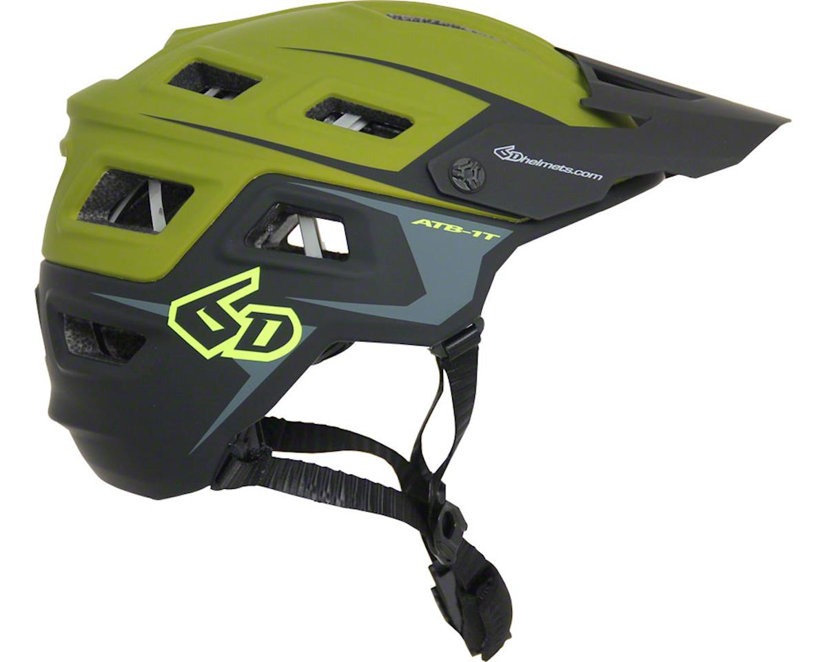 6D ATB-1T Evo Trail Helmet (Army Green/Black)