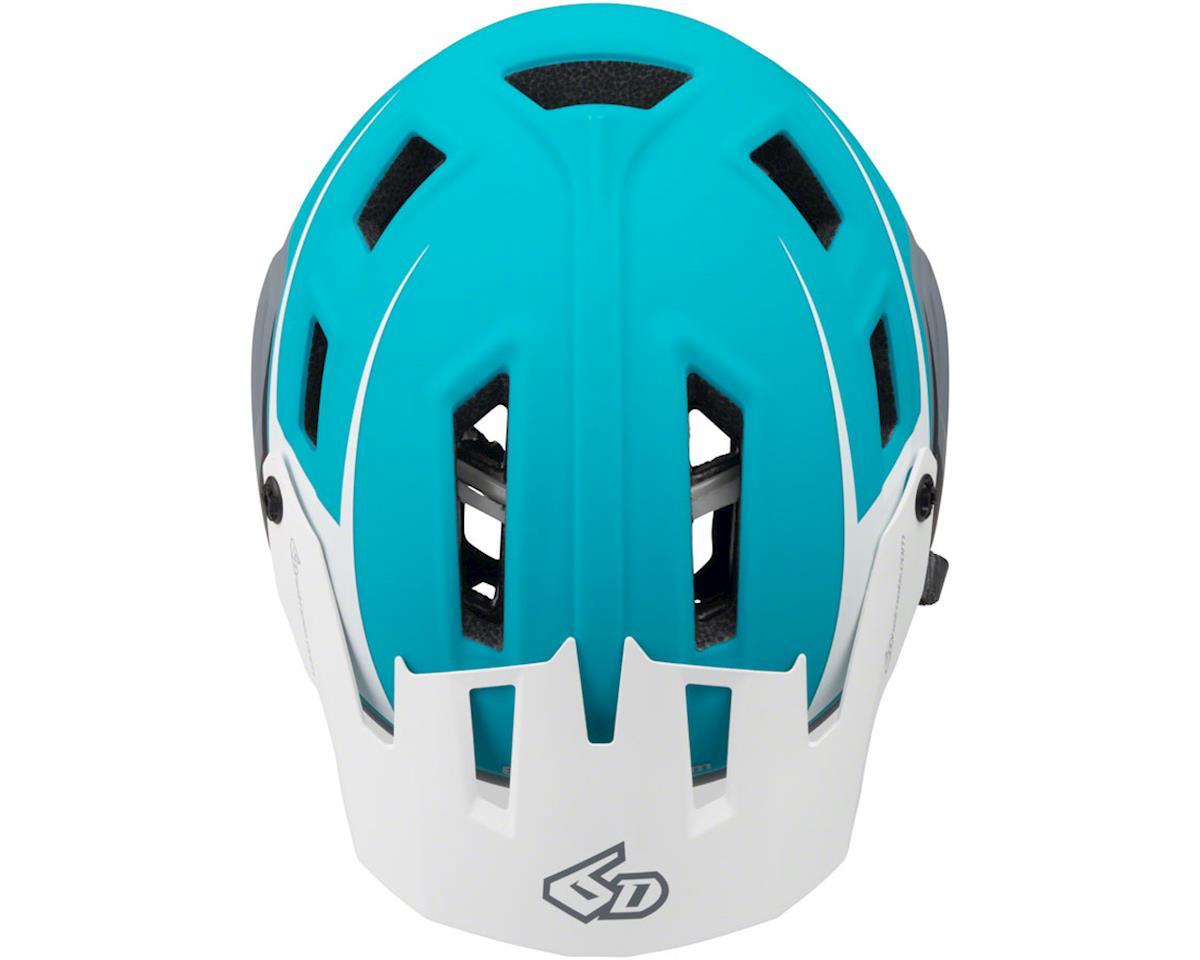 6D ATB-1T Evo Trail Helmet: Matte Gray/Neon Yellow, XL/2XL (M/L)