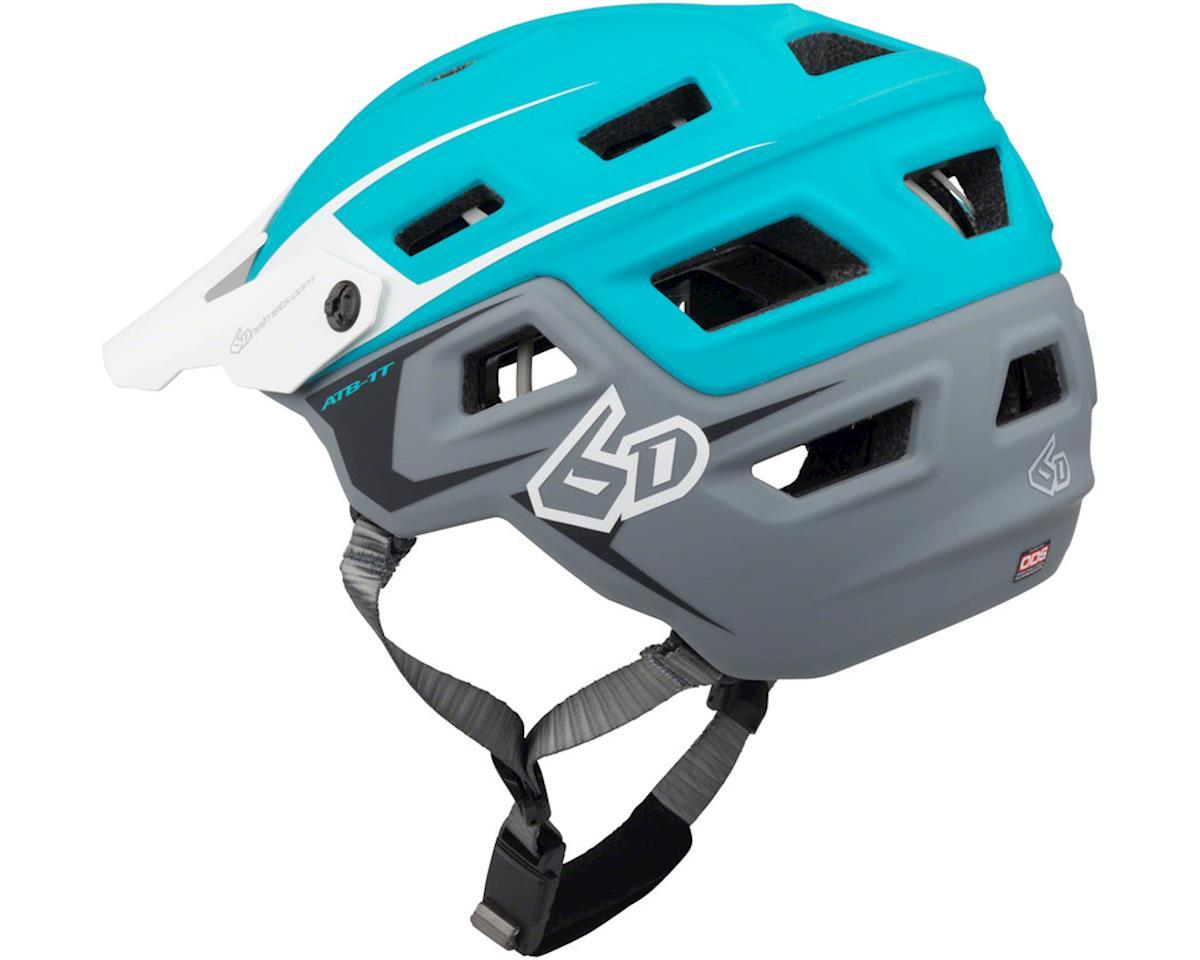 6D Helmets 6D ATB-1T Evo Trail Helmet - Aqua/Gray Matte, X-Small/Small (XL/XXL)