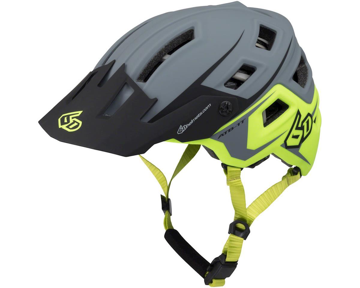 6D Helmets 6D ATB-1T Evo Trail Helmet - Aqua/Gray Matte, X-Small/Small (XS/S)