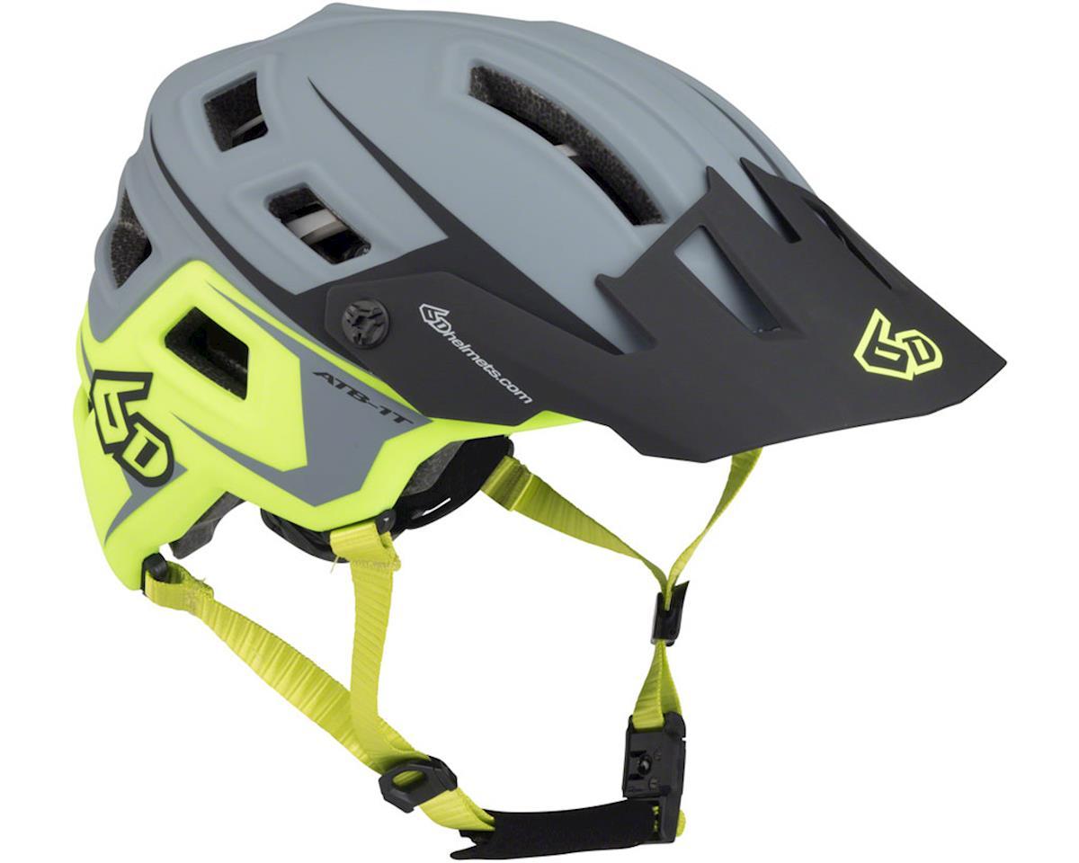 6D Helmets 6D ATB-1T Evo Trail Helmet (Matte Grey/Neon Yellow) (M/L)