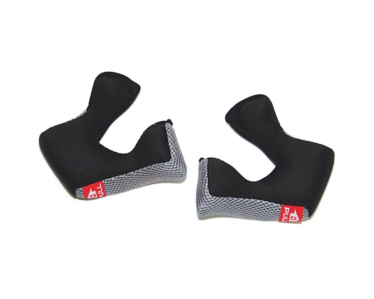 6D Helmets ATB 1 Helmet Cheek Pads (Black/Graph) (50mm)