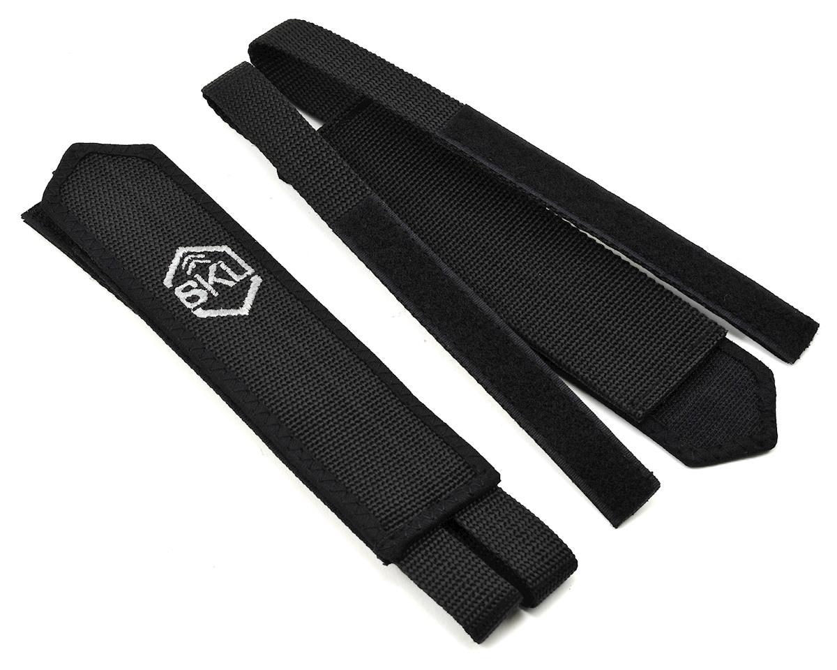 6KU Track Pedal Straps (Black)