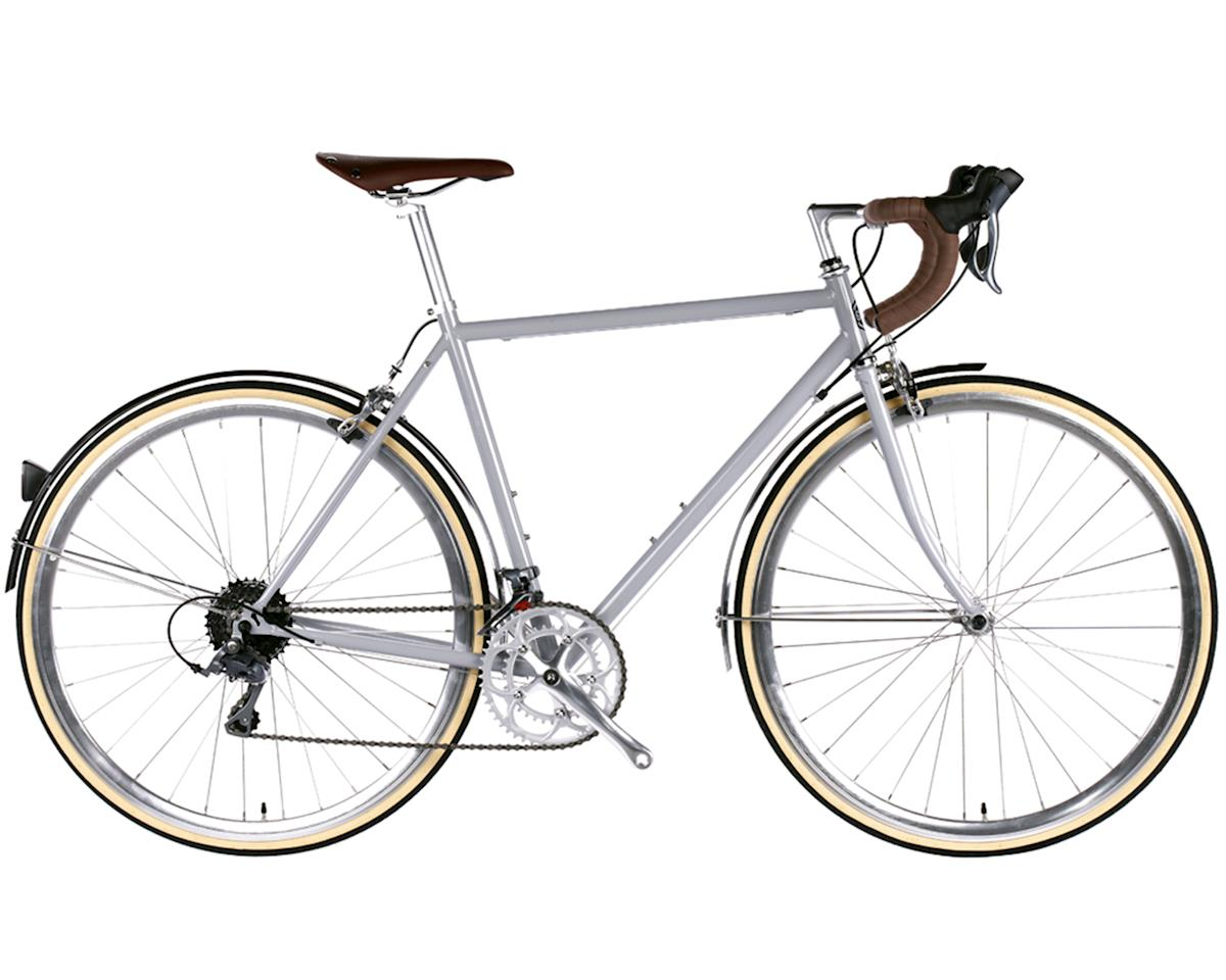 6KU Troy 16 Speed Classic Road Bike (Highland Grey)