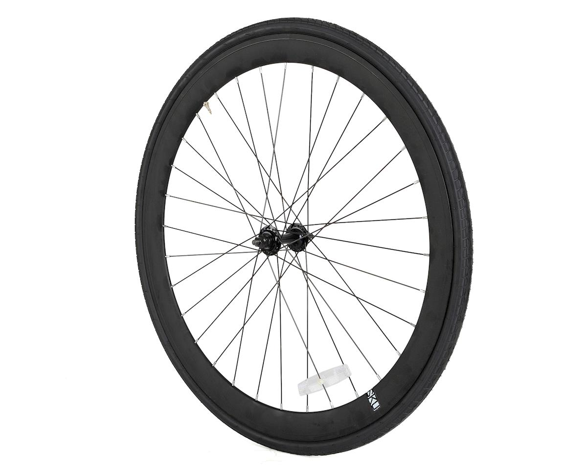 6KU Deep V Wheel Front (Black)