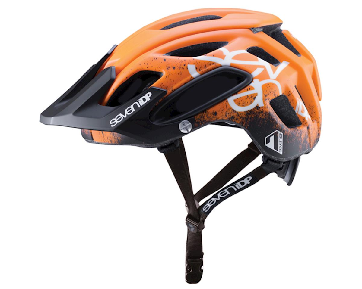 M-2 Helmet (Gradient Orange/Black/White)