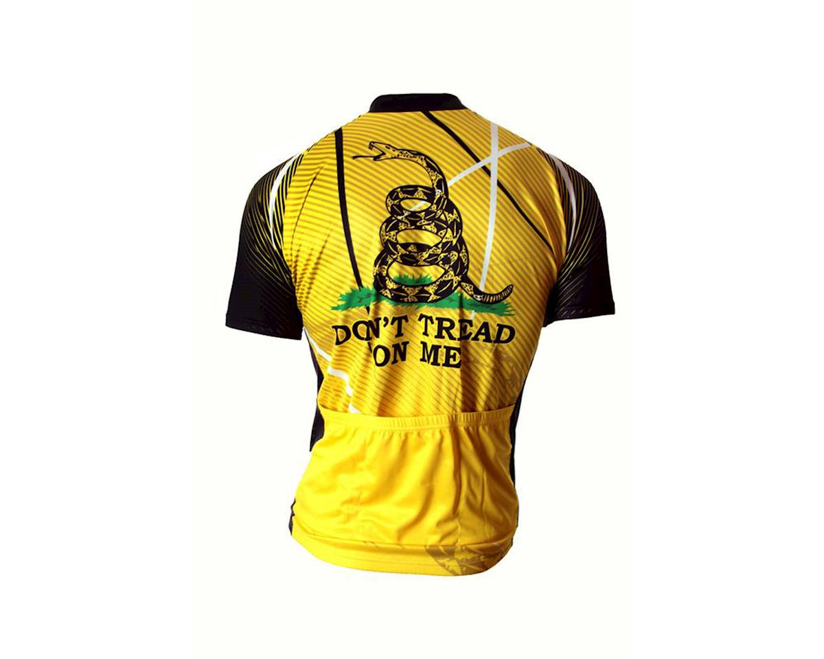 83 Sportswear Gadsden Don't Tread On Me Short Sleeve Jersey (Yellow)