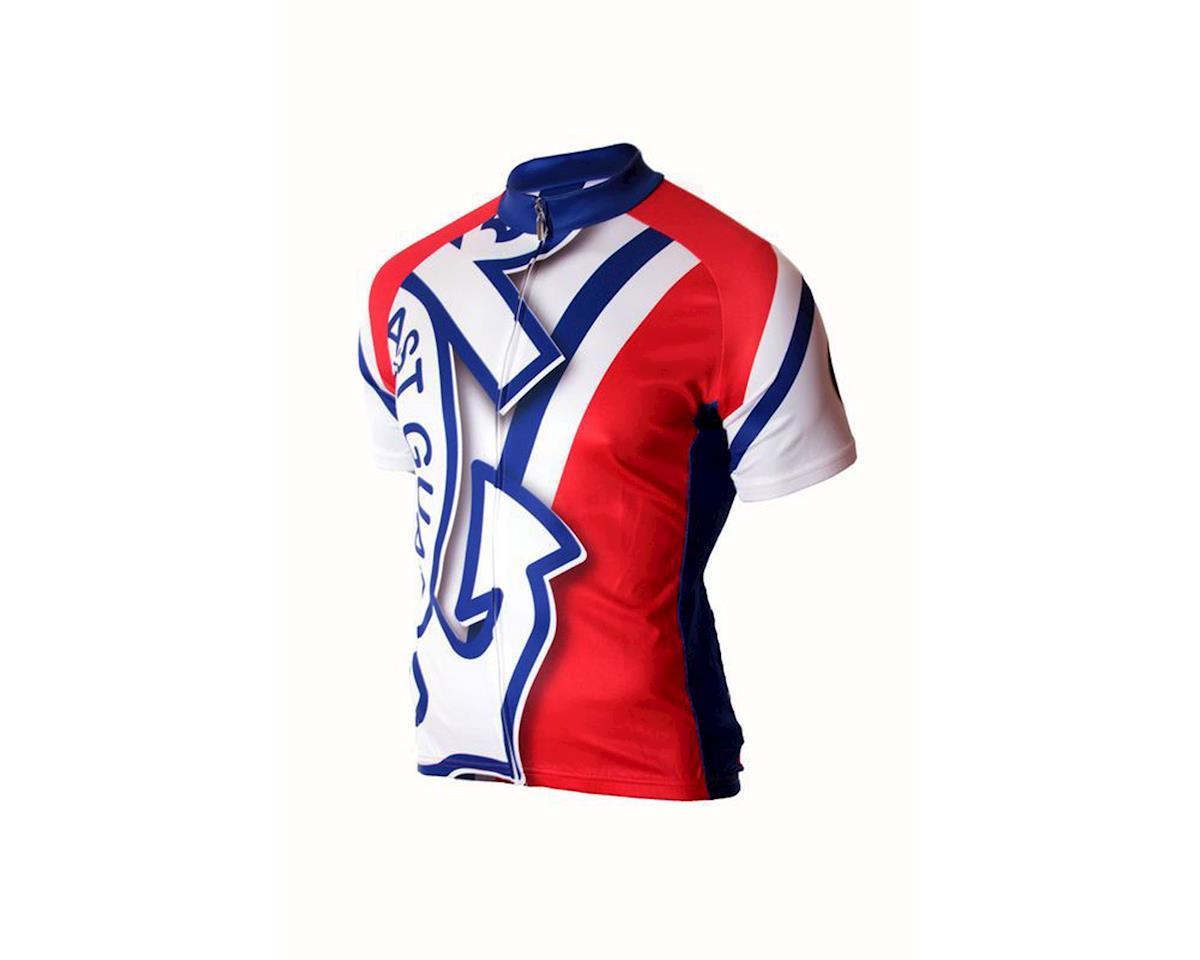 83 Sportswear U.S. Coast Guard Short Sleeve Jersey (Red)