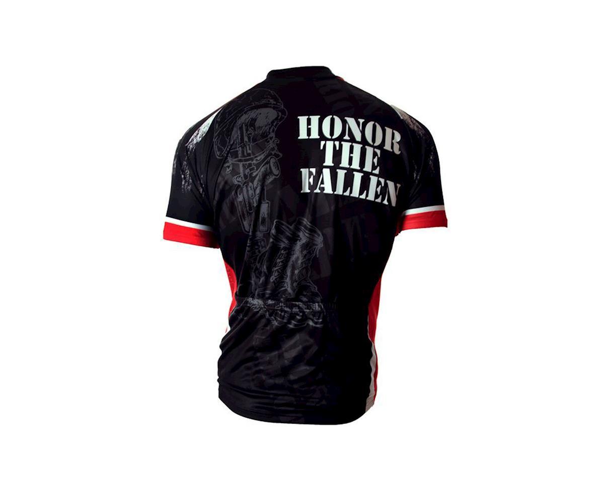 83 Sportswear Fallen Warrior Short Sleeve Jersey (Black)  11-2105 ... 4d93330f3