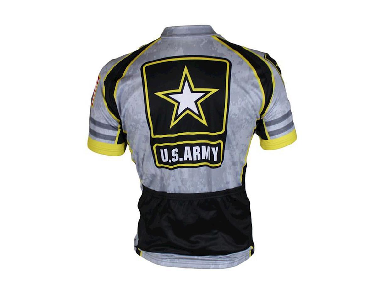 83 Sportswear U.S. Army Grey Short Sleeve Jersey (Grey)