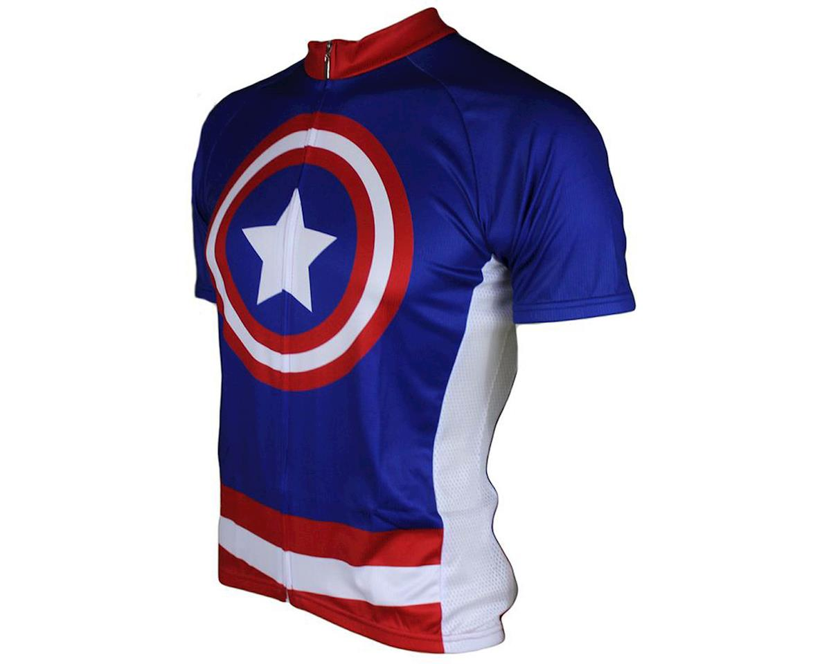 83 Sportswear Super Hero Short Sleeve Jersey (Blue)