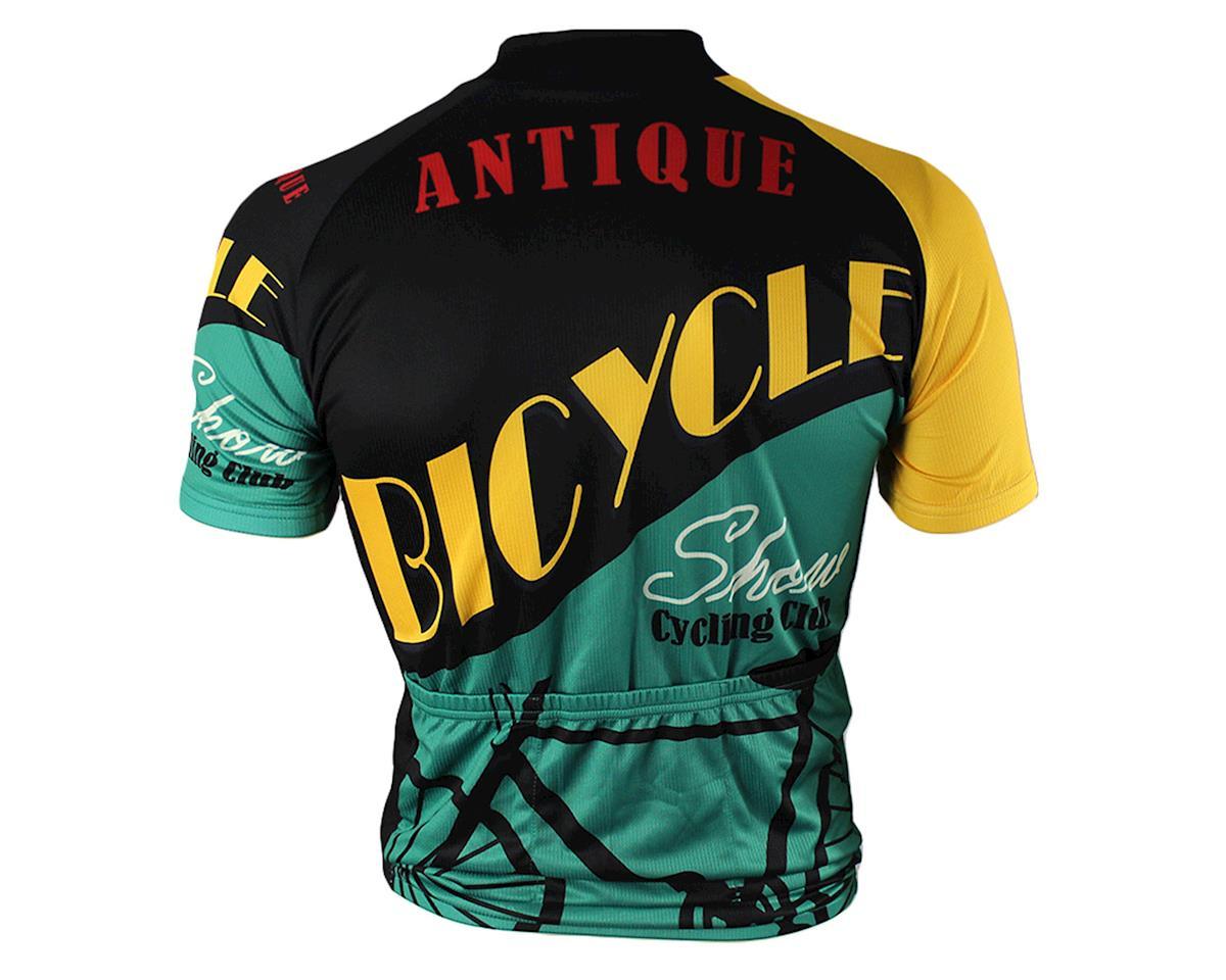 83 Sportswear Antique Bike Short Sleeve Jersey (Black)