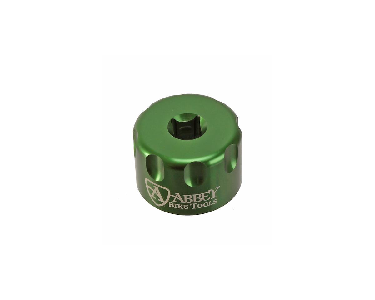 Abbey Bike Tools Suspension Top Cap Socket (Green) (24mm)