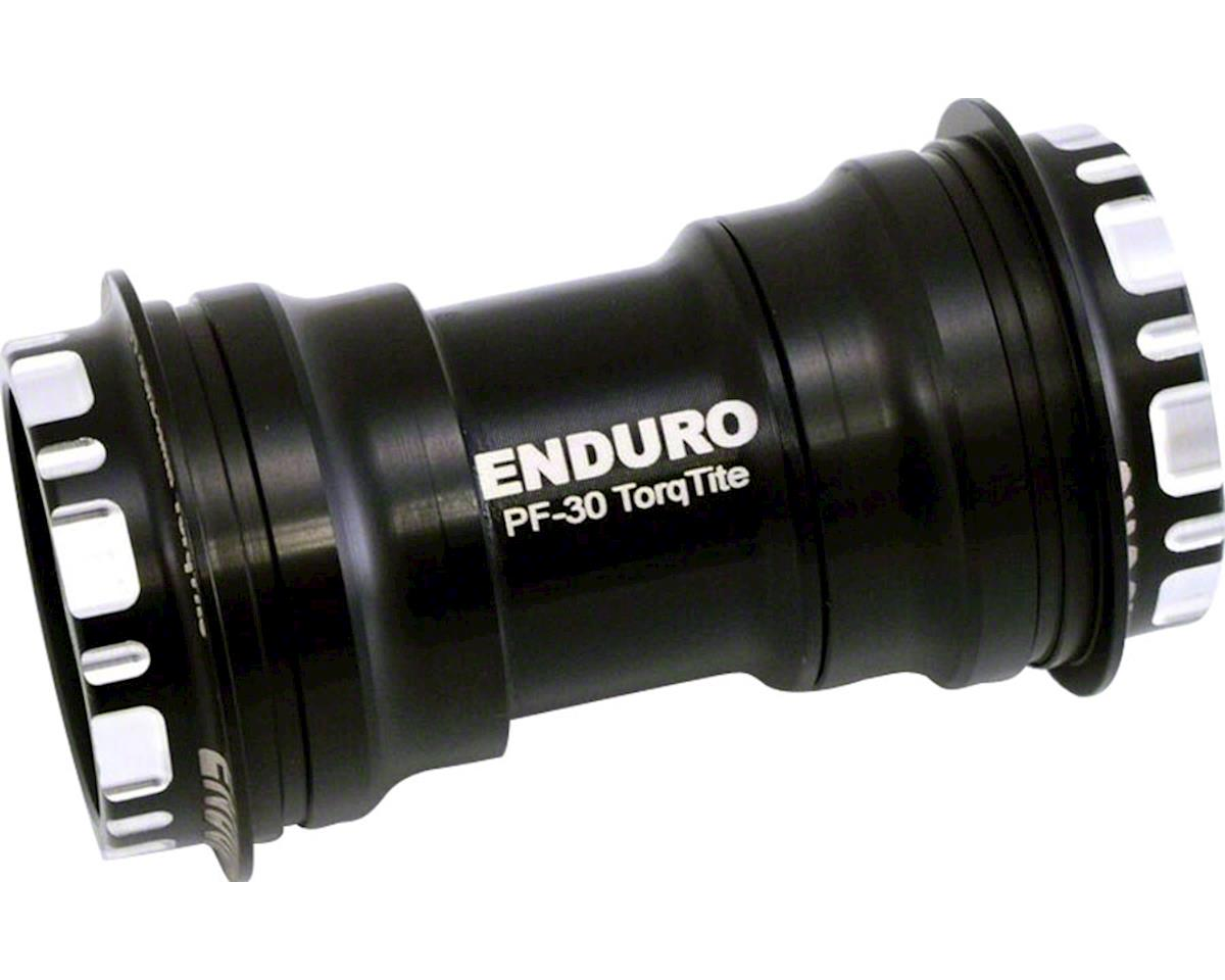 Enduro TorqTite Bottom Bracket: PF30 to 24mm, XD-15 Angular Contact Ceramic Bear