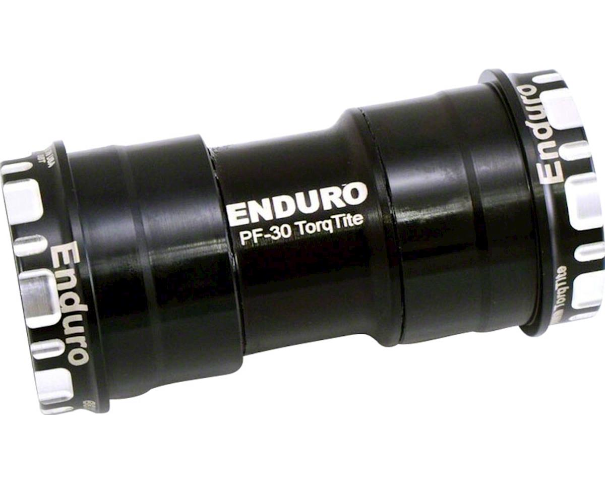 Enduro TorqTite Bottom Bracket: BB30 to 24mm, Angular Contact Stainless Steel Be