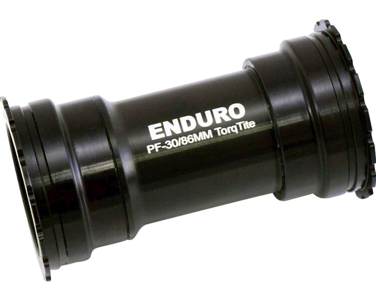 Enduro TorqTite Bottom Bracket: 386EVO, Angular Contact Stainless Steel Bearing