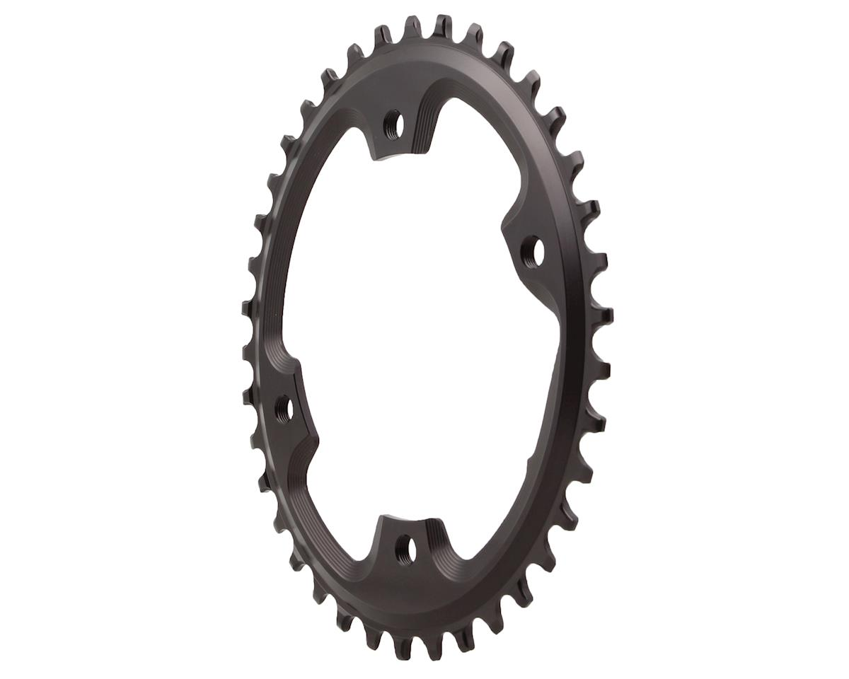 Absolute Black Asymmetric CX 1X Oval Chainring (4 x 110 BCD) (38T)