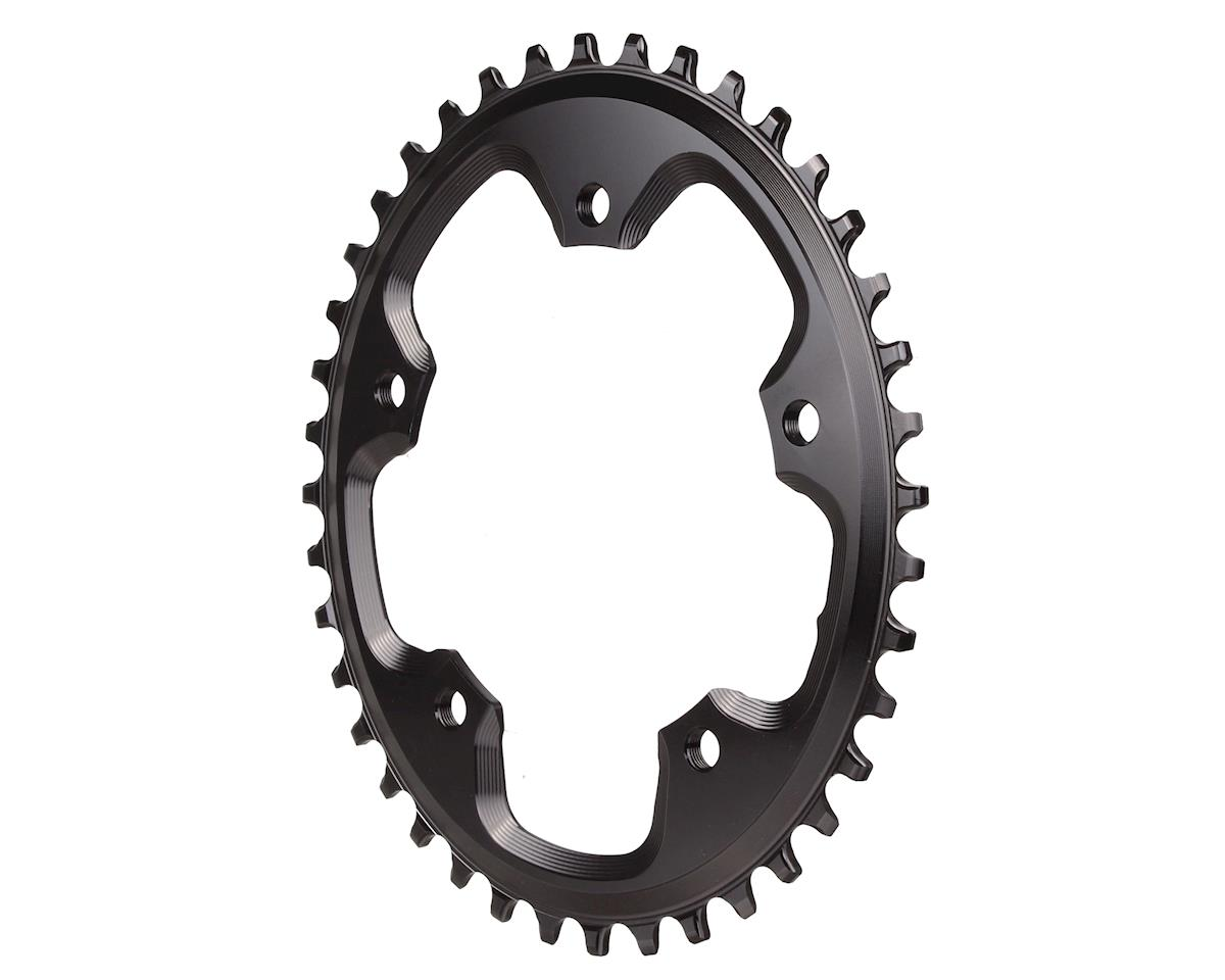 Absolute Black CX 1X Oval Chainring (5 x 110BCD ) (42T)