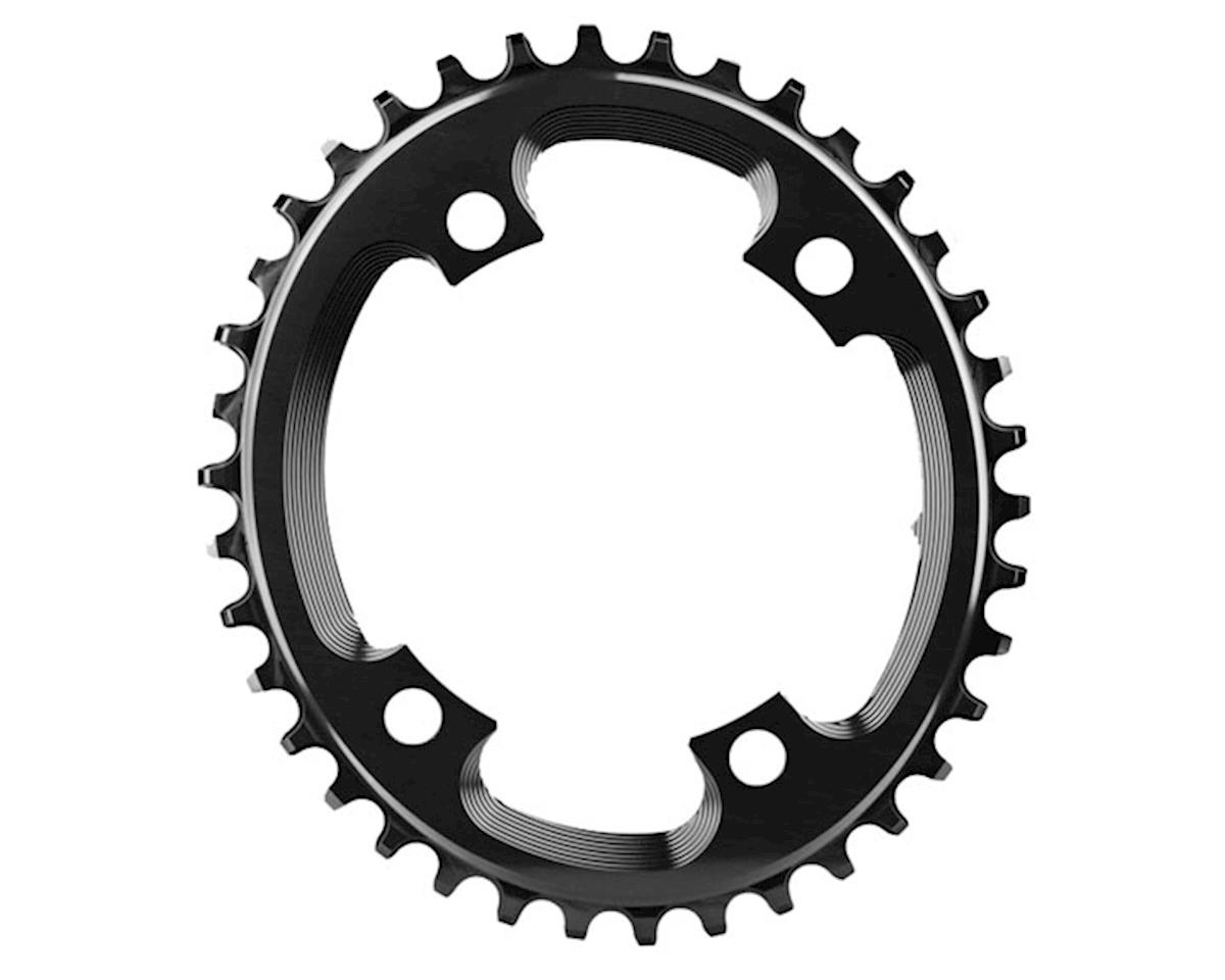 Absolute Black 110BCD Asym CX Oval Chainring