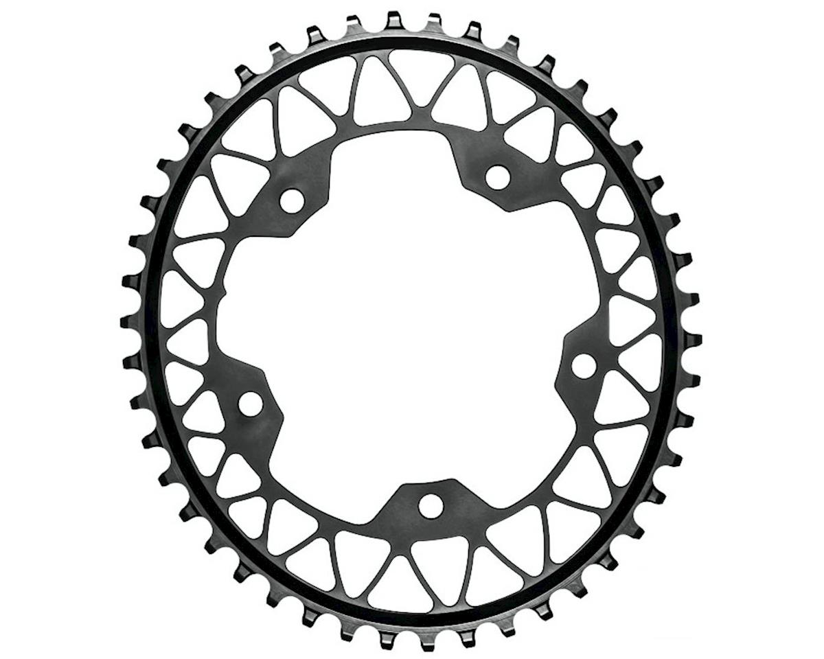 Absolute Black Gravel 1X Oval Chainring (110 BCD)