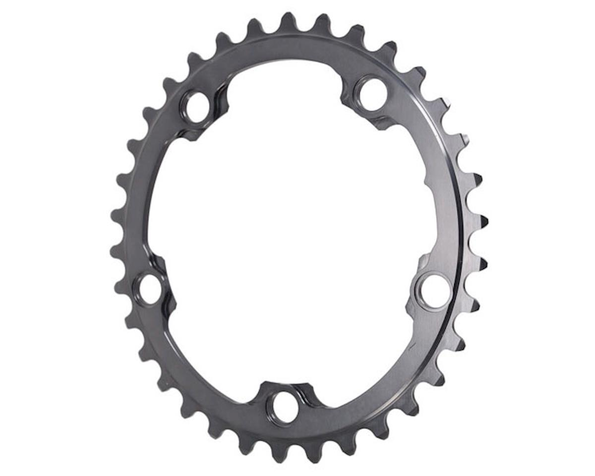 Absolute Black 5x110BCD Winter 2x Oval Chainring